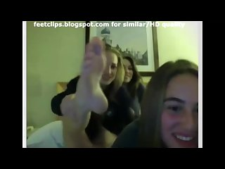 Chatroulette omegle girls feet 6