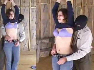 Hazel Kidnapped Stripped fondled