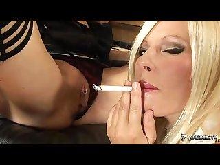 Michelle thorne smoking lesbian