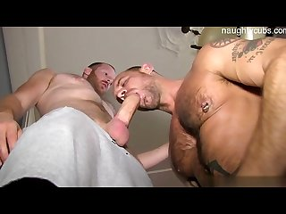 Brutal stepfather first blowjob
