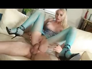 blonde milf anal double penetration hardcore threesome