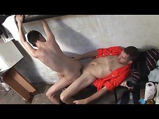 Boy caught spying fucked by stud
