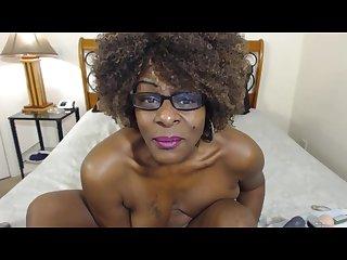 Ebony gilf squirt