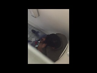 Caught a middle east person is jerking off in the toilet at school