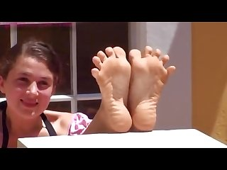 Sarah perfect small teen soles
