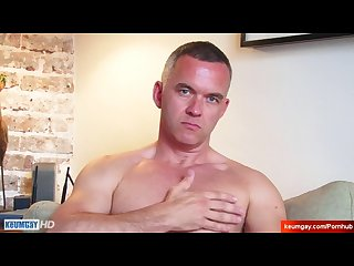 Mathieu handsome innocent french mature male in a gay porn.