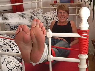Footfetish girls tickle my feet