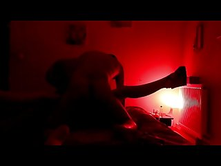 Wife fucked in the dark in front of husband and screaming like a bitch