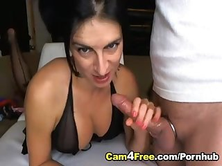 Hot wife in 69 swallows a loadful