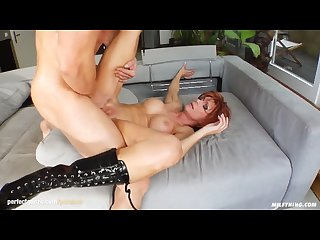 Milf hottie nina S in a hardcore milfthing scene