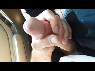 Masturbating in walmart parking lot