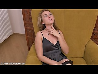 30 year old Nancy acty playing with dildo