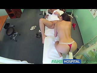 Fakehospital doctors cock and nurses tongue cure frustrated horny patients