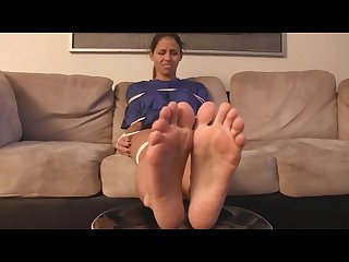 Ashley S sweet treat of stinky feet