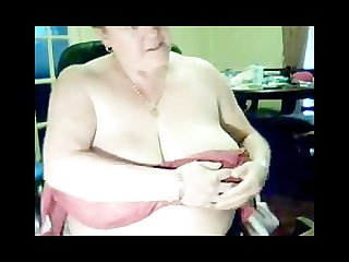 55 years busty granny patty going dirty