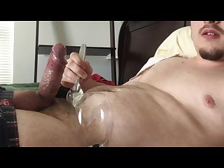Holy fuck i cum 6 times drinking eating cum until my balls are drained