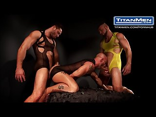 Aymeric deville francois sagat hunter marx jessy ares in incubus