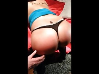 Teen rims sucks massive cock 2 of 3