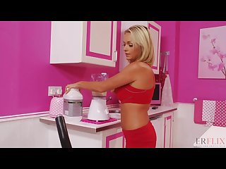 Fitness babe needed more protein