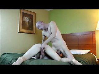 Fucking his boys ass