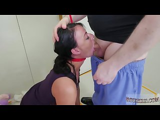 Brutal stockings gang and extreme close Hd and extreme cum swallow and
