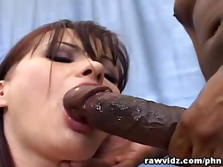 Emma first time anal with a black dude S big cock