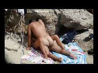 Public sex squirting fucking at the beach