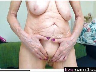 Best wrinkled granny ever live cam4