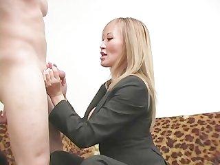 Brutal femdom ball busting 08 scene 4