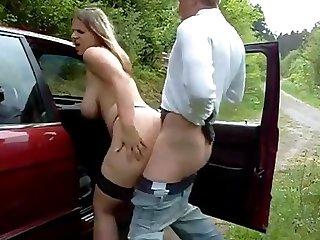 Sexy street hooker creampie