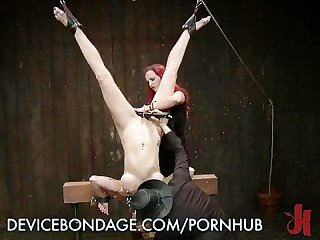 Whore fisted upside down
