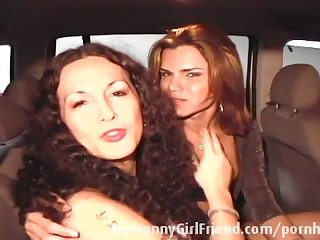 Tranny is picking up a tranny hooker