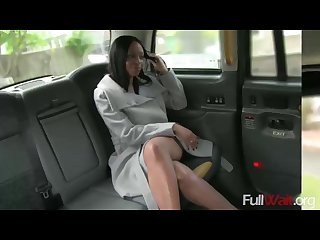 Lola marie fake taxi naked woman in london taxi swallows drivers spunk