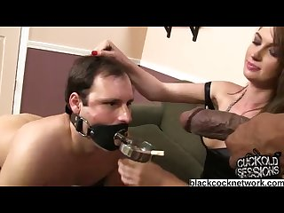 Shane diesel humiliating a white wimp in front of his wife