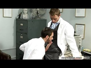 Dr stevens examines ludovic