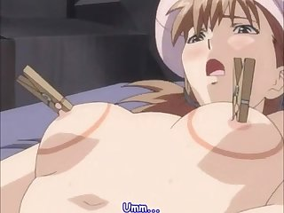 Big tits anime yuri fuck to orgasm