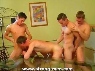 Group sex boys