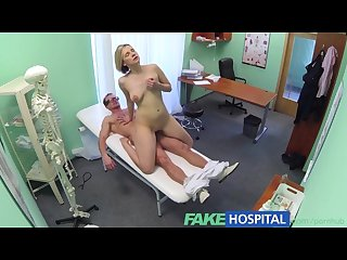 Fakehospital new doctor gets horny milf naked and wet with desire