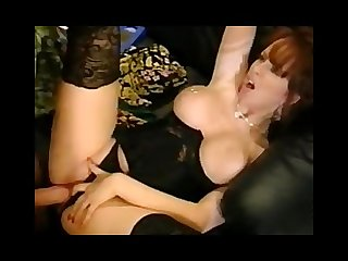 Sarah jane hamilton fucks john dough on the couch