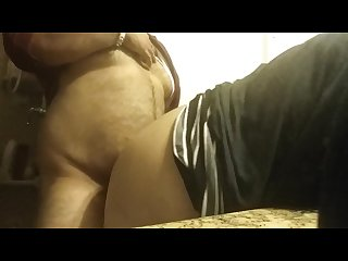 Mature uncle quickie doggy fuck with aunty in restroom