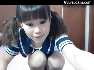 A very young asian web teen so horny i love her