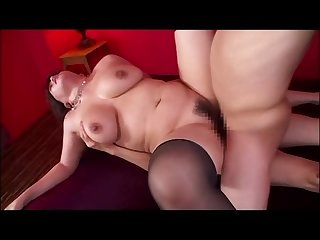 Apricot mizuki busty japanese fucked by two guys