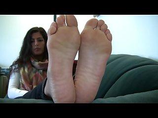 Sophia s candid stinky soles