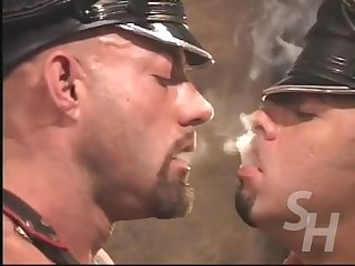 Mario ortiz and dillon smoking fetish fuck