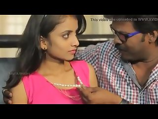 Desi cute teen girl romance with old teacher young old indian desiguyy