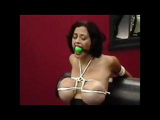 Big tit bondage whore