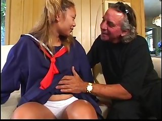 Oldman fucked wife and maid