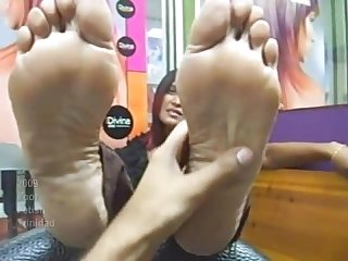 Huge nailbeds trinidad feet