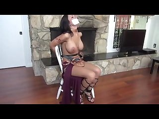 Slave leia bound and gagged