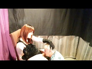 Submissive sissy smokes more 120s daddy gives blowjob